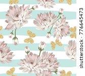 floral seamless pattern....   Shutterstock .eps vector #776645473