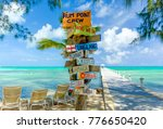 rum point  grand cayman ... | Shutterstock . vector #776650420