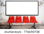 blank advertising billboard or...   Shutterstock . vector #776650738