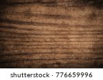 old grunge dark textured wooden ... | Shutterstock . vector #776659996