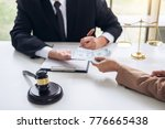 bribery and corruption concept  ... | Shutterstock . vector #776665438