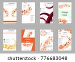 mega pack brochure design... | Shutterstock .eps vector #776683048