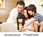 asian parents mother and father ... | Shutterstock . vector #776687644
