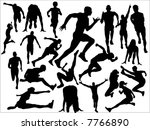 track and field   Shutterstock .eps vector #7766890