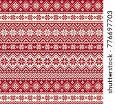 nordic pattern illustration...   Shutterstock .eps vector #776697703