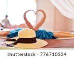luxury resort room beside beach ... | Shutterstock . vector #776710324
