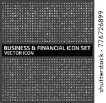 business and financial icon set ... | Shutterstock .eps vector #776726899