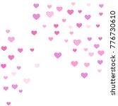 heart confetti beautifully...   Shutterstock .eps vector #776730610