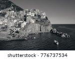 manarola overlook mediterranean ... | Shutterstock . vector #776737534