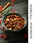 tasty homemade meat curry in... | Shutterstock . vector #776738230