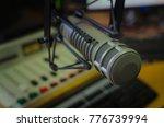 professional microphone in...   Shutterstock . vector #776739994