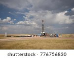 wright  wyoming   usa   august... | Shutterstock . vector #776756830
