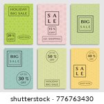collection of sale banners ... | Shutterstock .eps vector #776763430