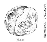vegetable salad  illustration... | Shutterstock .eps vector #776765794