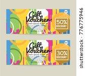 30   50 percent discount... | Shutterstock .eps vector #776775946