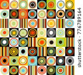 colorful background with dots ... | Shutterstock .eps vector #776789164