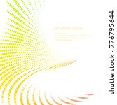 vector abstract background with ...   Shutterstock .eps vector #776795644