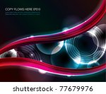 abstract background design | Shutterstock .eps vector #77679976