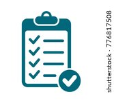 checklist vector icon  check... | Shutterstock .eps vector #776817508