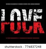 vintage slogan man t shirt... | Shutterstock .eps vector #776837248