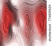 crimson red 3d embossed... | Shutterstock .eps vector #776839624