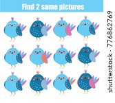 find the same pictures children ... | Shutterstock .eps vector #776862769