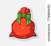 vector illustration. santa... | Shutterstock .eps vector #776864650