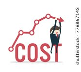 cost reduction concept. cost...   Shutterstock .eps vector #776867143