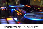 close up of dj playing party... | Shutterstock . vector #776871199