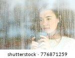 portrait of a longing teen... | Shutterstock . vector #776871259