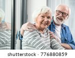 amazing retirement. waist up... | Shutterstock . vector #776880859