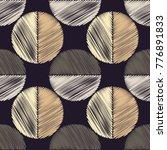 polka dot seamless pattern. the ... | Shutterstock .eps vector #776891833