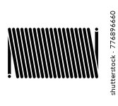coil spring steel spring  metal ... | Shutterstock .eps vector #776896660