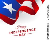 Banner Or Poster Of Puerto Rico ...