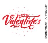 happy valentines day. text... | Shutterstock .eps vector #776909839