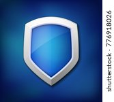 protection shield concept with... | Shutterstock .eps vector #776918026