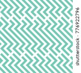 vector turquoise geometric... | Shutterstock .eps vector #776922796