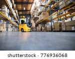 warehouse man worker with... | Shutterstock . vector #776936068