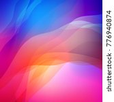 abstract colorful blurred... | Shutterstock .eps vector #776940874