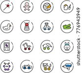 line vector icon set   magic...