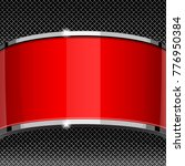 red and gray design template... | Shutterstock .eps vector #776950384