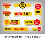 special offer tag collection ... | Shutterstock .eps vector #776951560