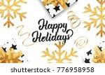 christmas. background for...   Shutterstock . vector #776958958