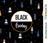 black friday sale event theme.... | Shutterstock . vector #776963476