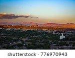 Sunset Overlook at Saint George / Utah