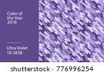 ultra violet abstract... | Shutterstock .eps vector #776996254