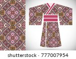 fashion art collection ...   Shutterstock .eps vector #777007954