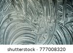 shop window painted for... | Shutterstock . vector #777008320