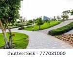 dubai  united arab emirates   ... | Shutterstock . vector #777031000