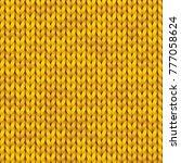 knitting vector pattern....   Shutterstock .eps vector #777058624
